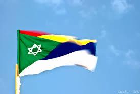 Blood Stained Flag August 2011 U2013 Anat Harrel U0027s Crossroads Israel