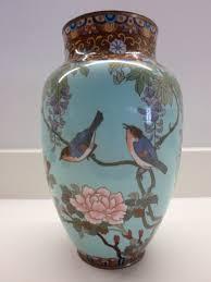 Porcelain Vases Uk Large Decorative Japanese Cloisonne Vase Meiji Period 289895