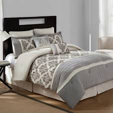 natural linen comforter bridge street warwick textured cotton linen 8 piece comforter set