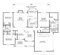 2500 Sq Foot House Plans Open House Plans Under 2000 Square Feet Home Deco Plans