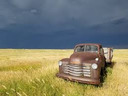 My Cool by Cool Old Truck In My Grandpa U0027s Field During A Storm Or A Screen