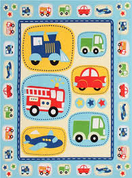 blue vehicle fabric daily commute panel fabric for boys fabric