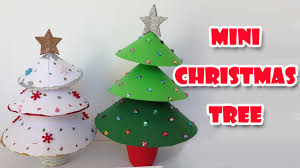 Homemade Christmas Tree by Diy Christmas Crafts Mini Christmas Tree Easy Ana Diy