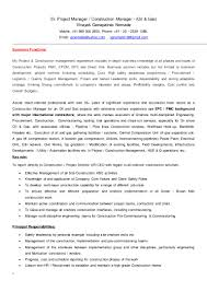 Sample Resume For Business Development Manager Resume For Oil And Gas Industry Virtren Com