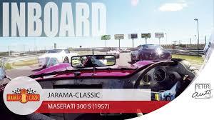 maserati 300s maserati 300 s inboard at jarama youtube