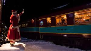 you can take your family on the polar express to the u0027north pole