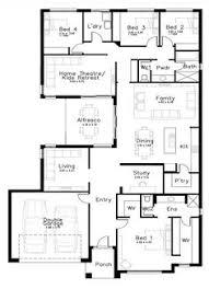 house building plans 4 bedroom house plans home designs celebration homes