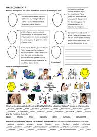 ma famille reading comprehension by leptir109 teaching