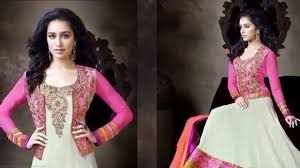 latest beautiful anarkali dress designs collection for 2015