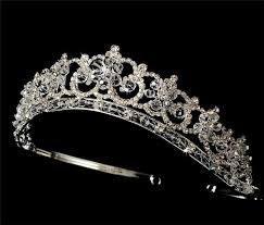 bridal tiaras beautiful swarovski bridal tiara wt434 s