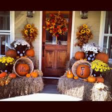 Love The Decorations But Really Love The Front Door Fall Decor