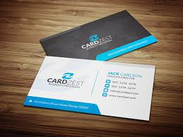 black blue and white corporate business card template cardzest