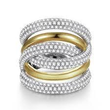 big finger rings images Choucong handmade big finger ring white gold filled full 250pcs jpg