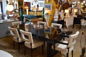 black lacquer dining set in the manner of william haines at 1stdibs