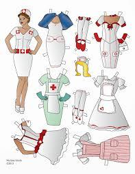 miss missy paper dolls nurse paper doll