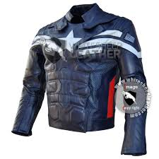 motorcycle style jacket evans captain america motorcycle real leather jacket