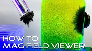 how to diy magnetic field line viewer how to see magnetic