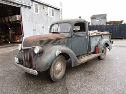 Classic Ford Truck 1940 - autoliterate 1940 ford v8 1 ton pickup blue hill maine