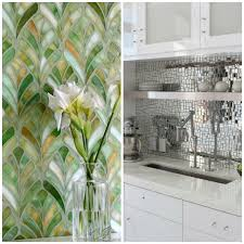 How To Install A Mosaic Tile Backsplash In The Kitchen by 6 Elegant Varieties Of Kitchen Backsplash Tile Big Chill