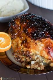 orange glazed turkey recipe