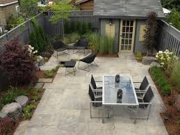 Backyard Ideas Without Grass No Grass Backyard Dual Table Set The Detailed Landscape Framing