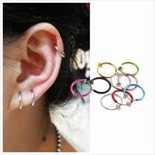 jual ear cuff ring clip price harga in malaysia lelong