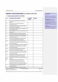 iso 27001 audit checklist u2013 get ready for your internal audit