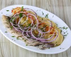 cuisiner le hareng frais recette harengs marinés