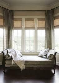Modern Bay Window Curtains Decorating Bay Windows With Window Seat Saomc Co
