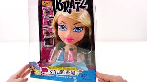 bratz color changing hair cream styling head play doh glitter