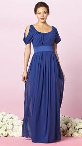 after six draped sleeve long bridesmaid dress 6638 by dessy