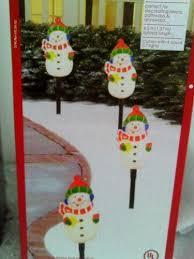 Light Up Snowman Outdoor Lighted Snowman Ebay