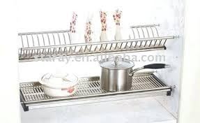 kitchen cabinet plate rack stainless steel shelves for kitchen cabinets stainless steel kitchen