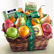 Sympathy Fruit Baskets Sympathy Gifts U2013 California Fruit Gifts