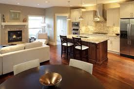 open kitchen floor plan houzz