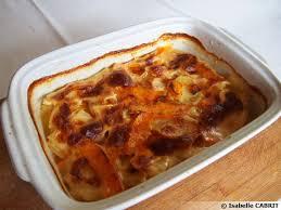 cuisiner potiron gratin de potiron et pommes de terre recette de cuisine