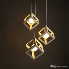 discount square shaped chandelier led 2017 square shaped