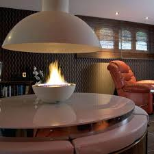 fireplace ergonomic open flame fireplace for living ideas open