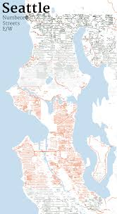 Seattle On Map by Mapping Seattle Streets Jim Vallandingham