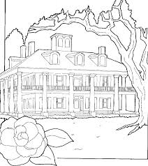 coloring pages houses house coloring pages printable coloringstar