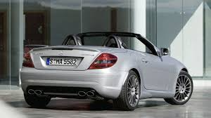 official mercedes slk 55 amg facelift
