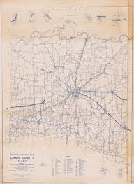 Texas State Road Map by General Highway Map Lamar County Texas The Portal To Texas History