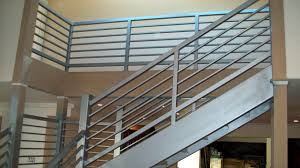 stairs astounding metal banister enchanting metal banister