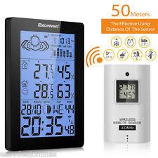 temperature chambre a coucher horloges de maison moderne pour chambre à coucher ebay