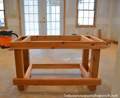 Free Potting Bench Plans Pdf How To Build Cedar Potting Table Plans Pdf Plans