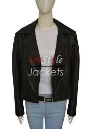 black motorbike jacket stylish biker style kim kardashian leather jacket instylejackets