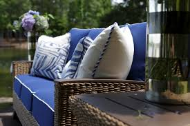 royan outdoor furniture with blue fabrics top fabric trends for