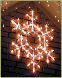 Outdoor Snowflake Lights Outdoor Led Snowflake Christmas Lights Home Design Ideas