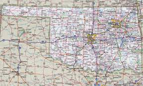 map of oklahoma large detailed roads and highways map of oklahoma state with