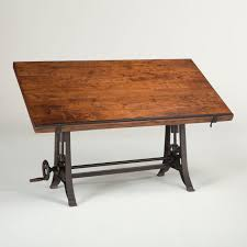 Architect Drafting Table Industrial Architect Drafting Table Walnut Zin Home